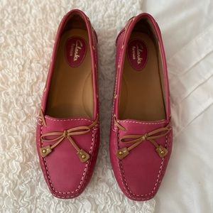 Clark's C Mocc Boat Loafers